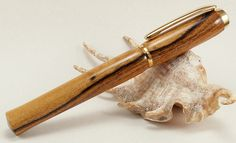 Gorgeous handcrafted wooden pen.
