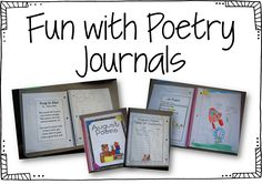 weekly schedule for using Phonics Poems and Poetry Journals  - free downloads in the post