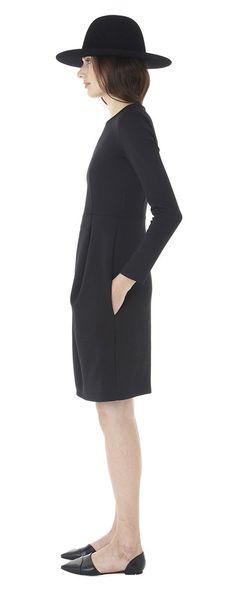 Apiece Apart Lena Bi-Stretch Dress