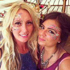 Glitter on pinterest festivals glitter and festival makeup for Ibiza proms cd