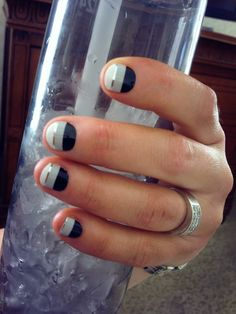 Silver Lining nail wraps by Jamberry Nails