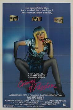 Crimes de Paixão film baixar, passion 1984, films, ken russel, de paixão, favorit movi, film poster, posters, crime de
