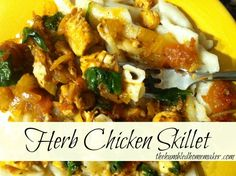 Herb Chicken Skillet