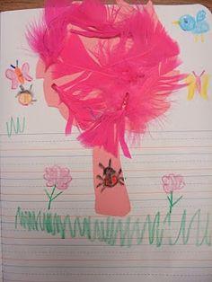 classroom idea, happy birthdays, tree, seuss, seed, writing prompts, suess idea, topiari, earth day