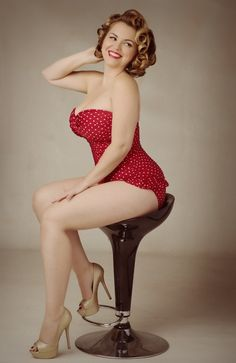 Smokin Hottie Covered In Polka Dots...