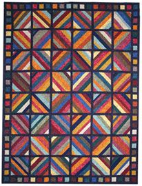 This Tic Tac Flannel Quilt Pattern a FREE Download.  Note: you could certainly make it out of standard cotton fabric. I want to make it out of Batiks.   www.quiltersclubofamerica.com  is a great web site.