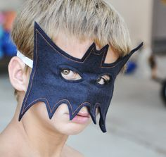 #bat #mask - easy tutorial - I have made a couple of these