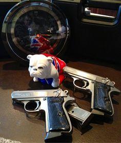 "007 Bond, James Bond    ""two Walther PPK/S & Jack"""