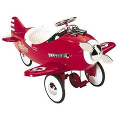 Have to have it. Airflow Collectibles Sky King Pedal Plane $459