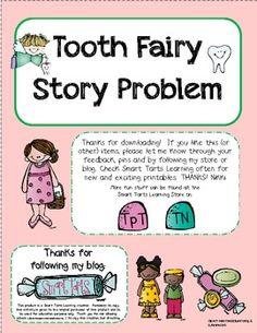 **FREEBIE** Tooth Fairy Story Problem