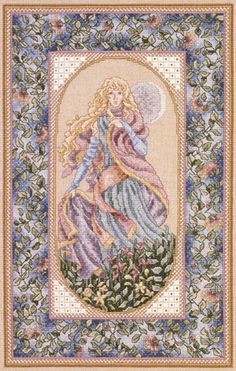 Night by Teresa Wentzler - cross stitch