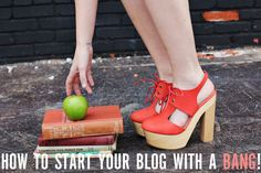 start your blog with a bang!  <3 'a beautiful mess'