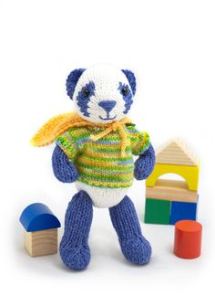 Free knitting patterns for some really cute toys