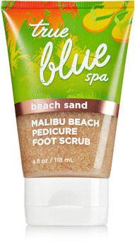 Malibu Beach Pedicure Foot Scrub with Beach Sand - True Blue® Spa - Bath & Body Works