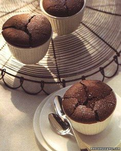 Warm Brownie Cups Recipe