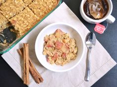 Budget Bytes: apple pie baked oatmeal $4.76 recipe / $0.60 serving