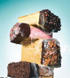 Chocolate-Dipped Ice Cream Sandwiches: Bon Appetit