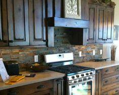 stone backsplash on pinterest kitchen backsplash stone