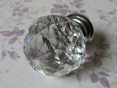 Knob Knobs Glass Knobs Crystal Knob Dresser Knob Drawer Knobs Pulls Handles Silver Clear Kitchen Cabinet Knobs Sparkly Shiny Furinture Bling