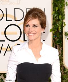 Golden Globes Beauty- How to get Julia Roberts' updo hairstyle