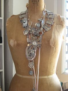 From Sally Jean's studio, by eclectic charm, via Flickr