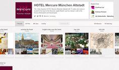 Hotel Mercure München http://pinterest.com/mercurealtstadt/