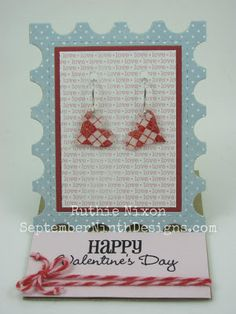 Obsessed with Scrapbooking: Guest Designer Ruthie with Cricut Earrings!