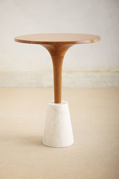 Romanza Mable-BaseTea Table - anthropologie.com