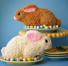 Easter Rabbit Cakes