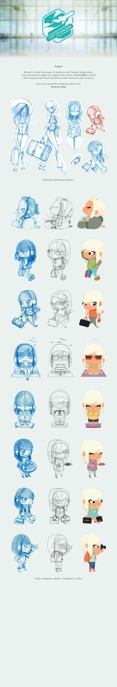 #flat #illustration #character