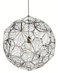 Etch Web Light stainless tom dixon. Yes please!