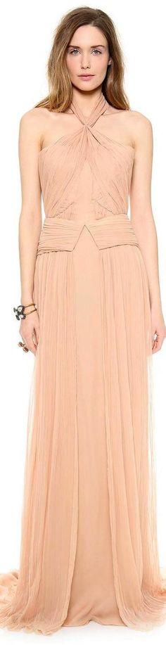 Zac Posen sleeveless gown