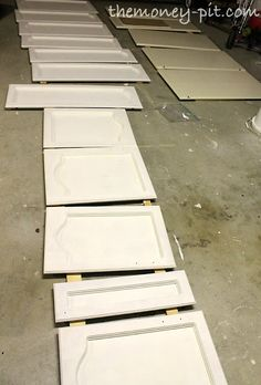 How to paint kitchen cabinets without losing your mind...