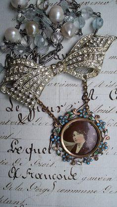 My Fair Lady - Vintage Assemblage Necklace