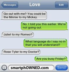 Rose Tyler to my Doctor?