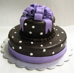purpl black, black weddings, birthday idea, black white, purpl cake, awesomebeauti cake, cake black, purple cakes, purple wedding cakes