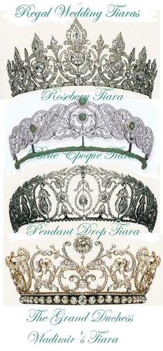 Tiaras of British Royal Family