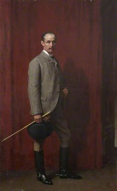 Portrait of Sir John Gilmour of Montrave, 1886 by Sir George Reid (Scottish 1841-1913).