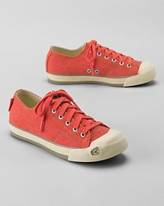 """KEEN® Coronado Sneakers. Love these - they are reminiscent of the """"toe cap"""" sneakers we all wore as kids.  :)"""