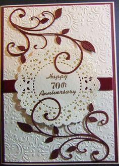 doili, wedding cards, challenges, anniversari card, swirl
