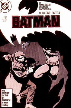 Batman #407: Year One by Frank Miller and David Mazzucchelli