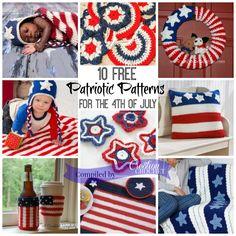 America The Beautiful Free Pattern Round Up