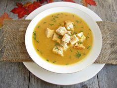 Light and Creamy Pumpkin Soup