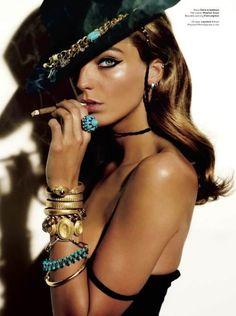V Magazine #64 2010  Daria Werbowy by Mario Testino