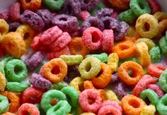 The Fruit Loops Shot   32 Shots That Taste Like Other Delicious Foods foods, food additives, food coloring, breakfast food, cereals, colorful food, dyes, country, kid
