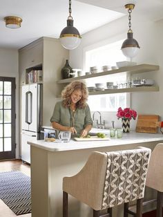 Kitchen - A House That Plays With Pattern on HGTV