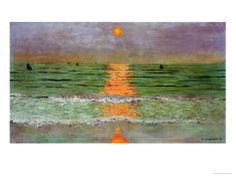 Sunset, 1913 Giclee Print by Félix Vallotton at Art.com