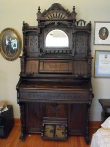 My grandmother had an antique pump organ built in 1899 (which now resides in my house).