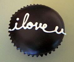 Valentines Day cupcake idea <3