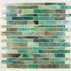 There might be too much brown in this tile, but I like the green. $29.70 closeout